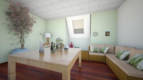 zen home  - Rustic - Living room  - by jessie mckals