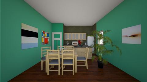 Set Design Alix and Sam - Kitchen  - by GamerWillis