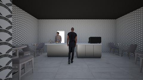 cafe  - Kitchen  - by Aziegler2