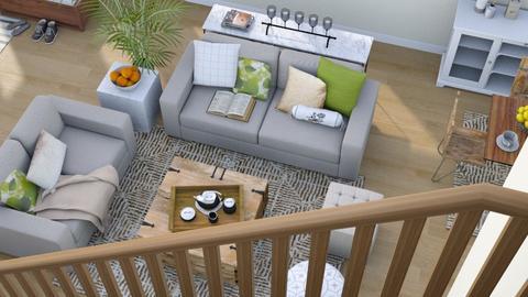 Above - Modern - Living room  - by millerfam