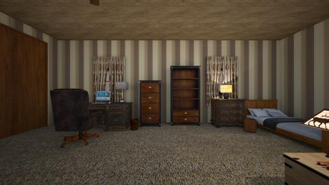 Rustic Writing Loft - Living room  - by mspence03