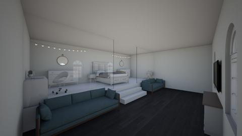 Twin Bedroom - Modern - Bedroom  - by hcbhcgygchbhbygbjygchg