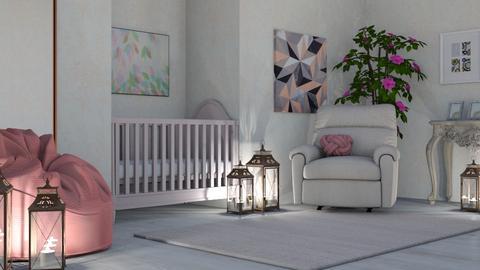 Sweet Dreams - Modern - Kids room  - by millerfam