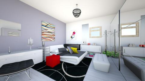 myroom - Minimal - Bedroom  - by TaxiMarcilla TaxM