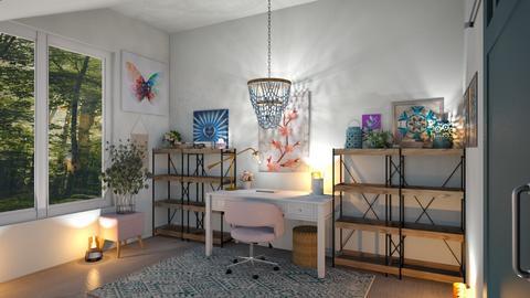 cozy artroom - Office  - by elia07