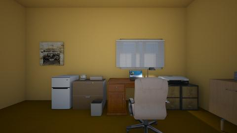 Writers Room - Office  - by mspence03