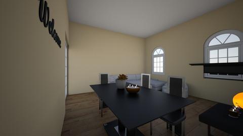 Gretas Dinner Party - Living room  - by GretaReyes