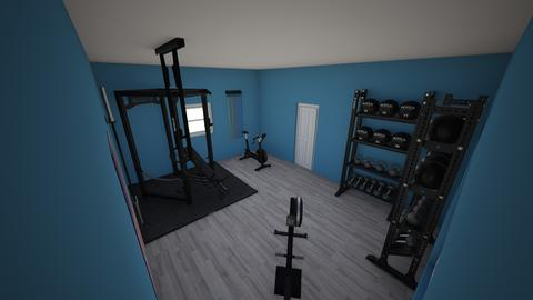 Nick's shed gym - by rogue_f6988dbcafe9f18c8372f586d1c2c
