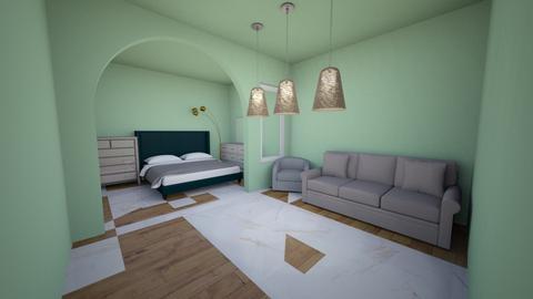 green tea - Modern - Bedroom  - by alexa0921