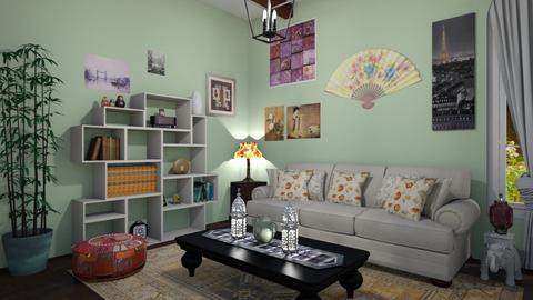 World Traveler - Living room  - by b sharp