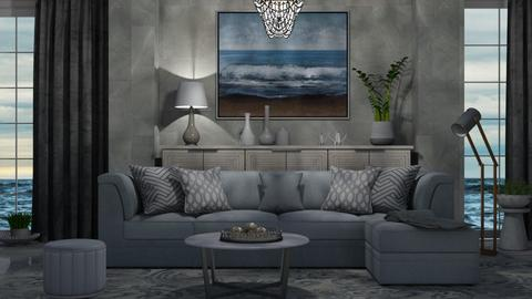 M_ Waves - Living room  - by milyca8
