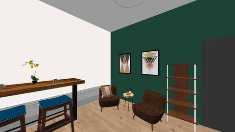 Lounge Idea - Rustic - Office  - by robynbyrne