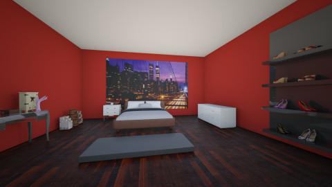 My dream  - Retro - Bedroom  - by Aleksandra Bogdanovic