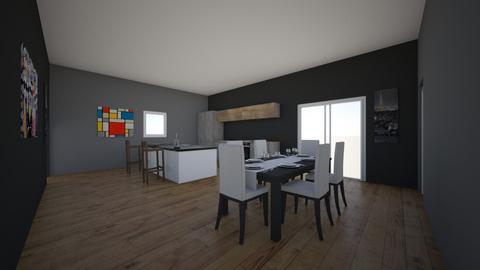 Modern design kitchen - Modern - Kitchen  - by Lennox_Galvan