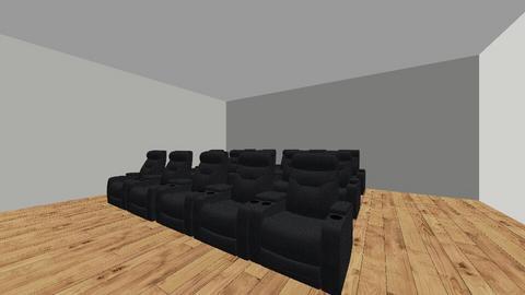 24 x 27 media room - by ThuyHoang