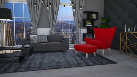 TTC - Living room  - by Nina Colin