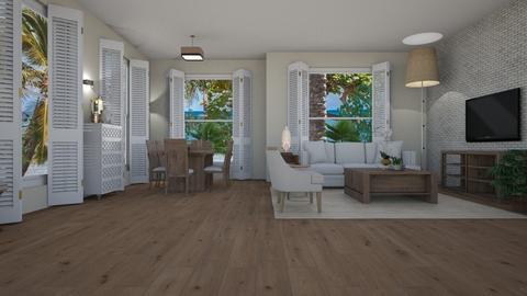 ARTISAN FLOORING template - Rustic - Living room  - by Daisy de Arias