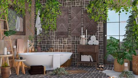 Plants - Bathroom  - by ArtHousedeco