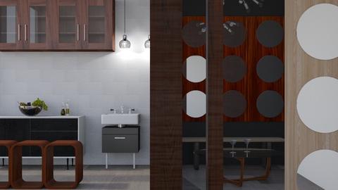 Metro - Modern - Kitchen  - by Gurns