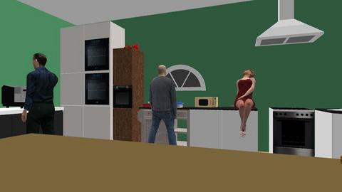 kitchen - Kitchen  - by love beyblade