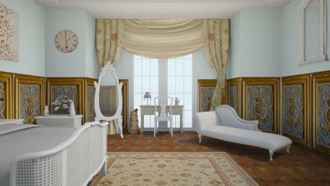 Rococo  - Classic - Bedroom  - by aerifia
