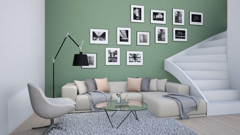 Couching Time - Retro - Living room  - by aggelikimar