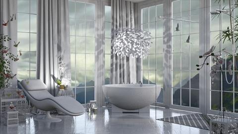 En lo alto - Minimal - Bathroom  - by LuzMa HL