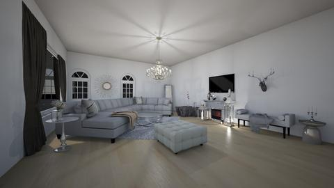 Glamour living room - Glamour - Living room  - by Scarlet_luna