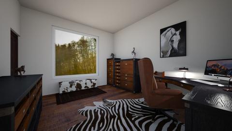Study - Office - by larissanason
