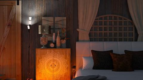 Brown BedRoom - Modern - Bedroom  - by MB2006