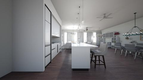 apartment - Kitchen  - by Architectdreams