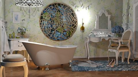 M_In the spiders web - Bathroom  - by milyca8