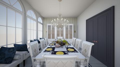 Oscar dining room  - Classic - Dining room  - by Keilla