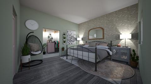 green room - Bedroom - by Rachel_Starlanda
