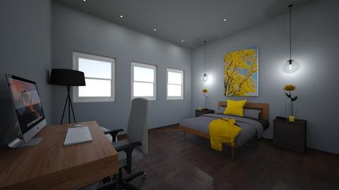 interior design final pro - Bedroom - by 24Hsmith1