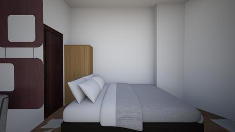 Condo Interiors_Bedroom - Modern - Living room - by danes