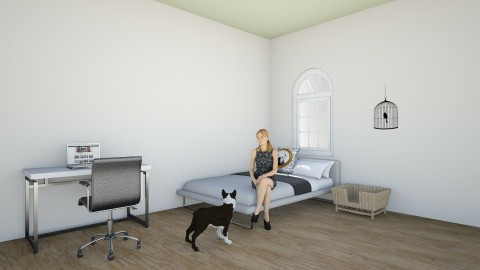 dog and human room - Bedroom - by Lou Rizzo