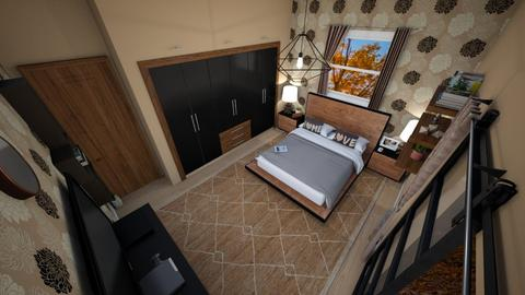 family home 44 - Modern - Bedroom  - by Stavroula Chatzina
