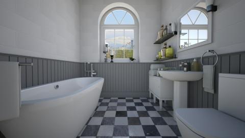 Traditional Virtual - Bathroom  - by Thrud45