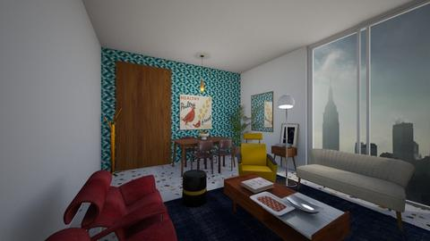 retro inspired - Living room - by Cartell