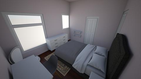 My New Bedroom - Minimal - Bedroom  - by jfergs3