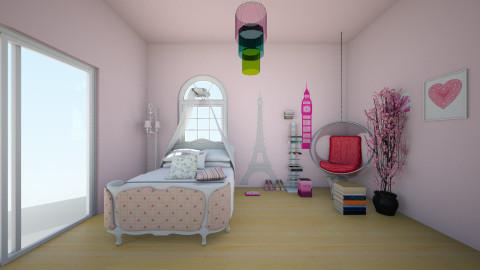 jason - Feminine - Bedroom - by pikachuXtoriX
