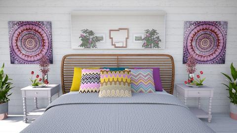 Flower Inspired Bedroom - Modern - Bedroom  - by millerfam