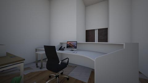 Mostrador Lasertek - Office  - by Chaamuuu