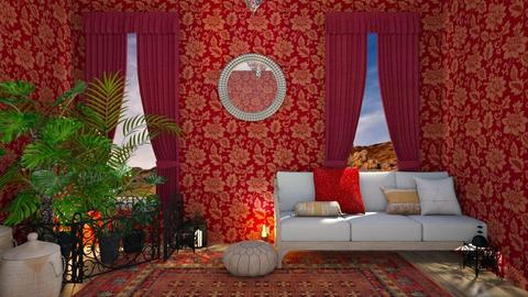 Moroccan - Retro - Living room  - by Dragonets of Destiny