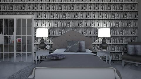 Contest_ModernTeenRoom - Modern - Bedroom  - by Khayla Simpson