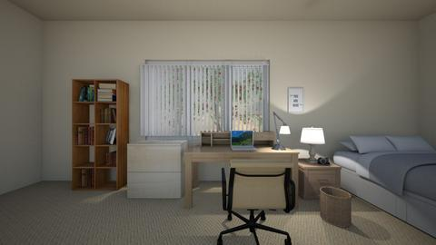 Soft Light Space - Bedroom  - by mspence03