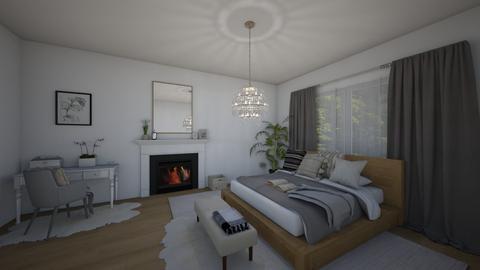 natural bedroom - Modern - Bedroom  - by ana pogorelec