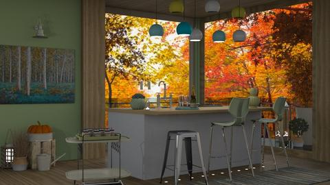 autumn - Kitchen  - by intdeson