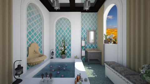 Ombre bath - Bathroom  - by Lizzy0715